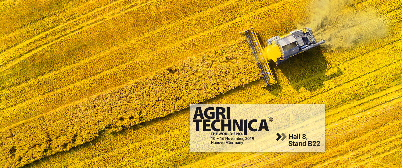 Lechler at Agritechnica 2019: Visit us in hall 8, stand B22.