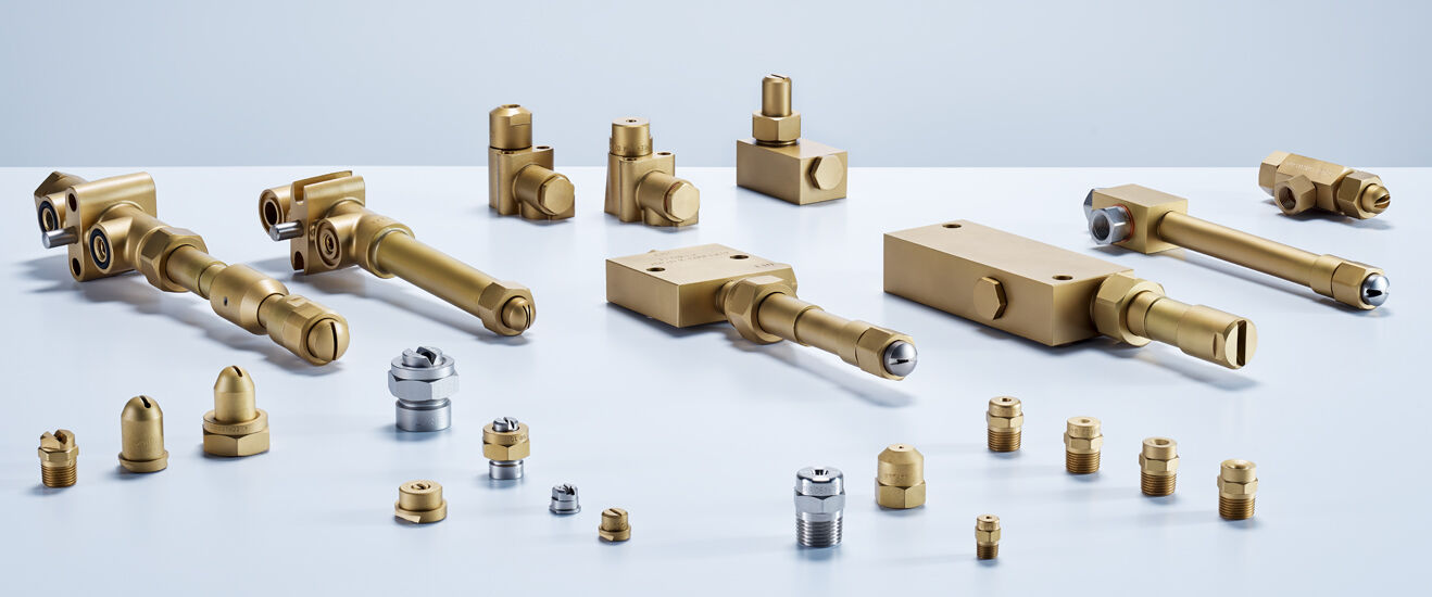 Lechler nozzles for secondary cooling in continuous casting processes