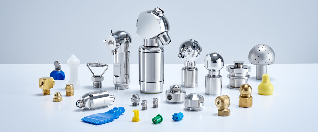 Lechler nozzles and spray systems for General Industry