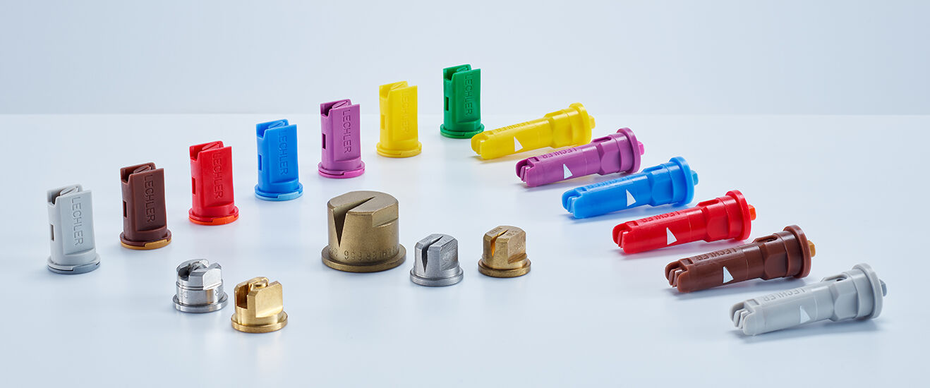 Lechler nozzles for special agricultural applications