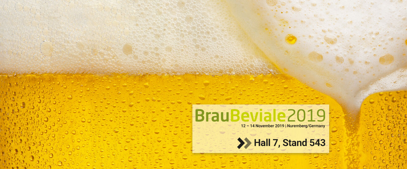 Lechler at BrauBeviale 2019: Visit us in hall7, stand 543