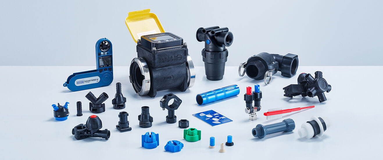Accessories for Lechler agricultural nozzles