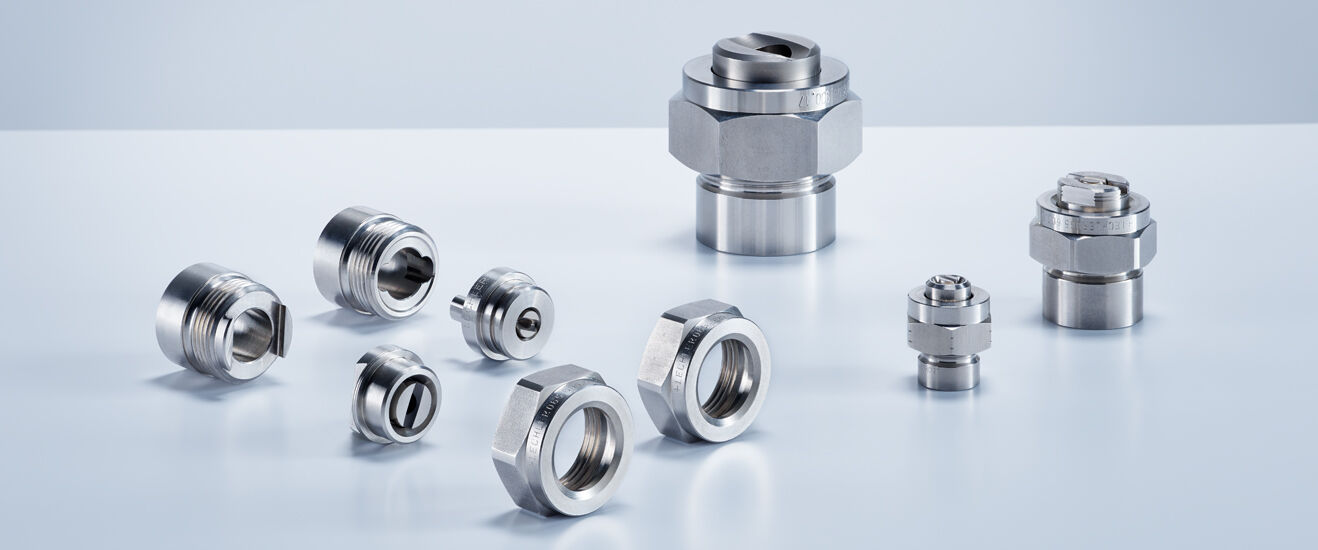 Lechler nozzles for roll cooling