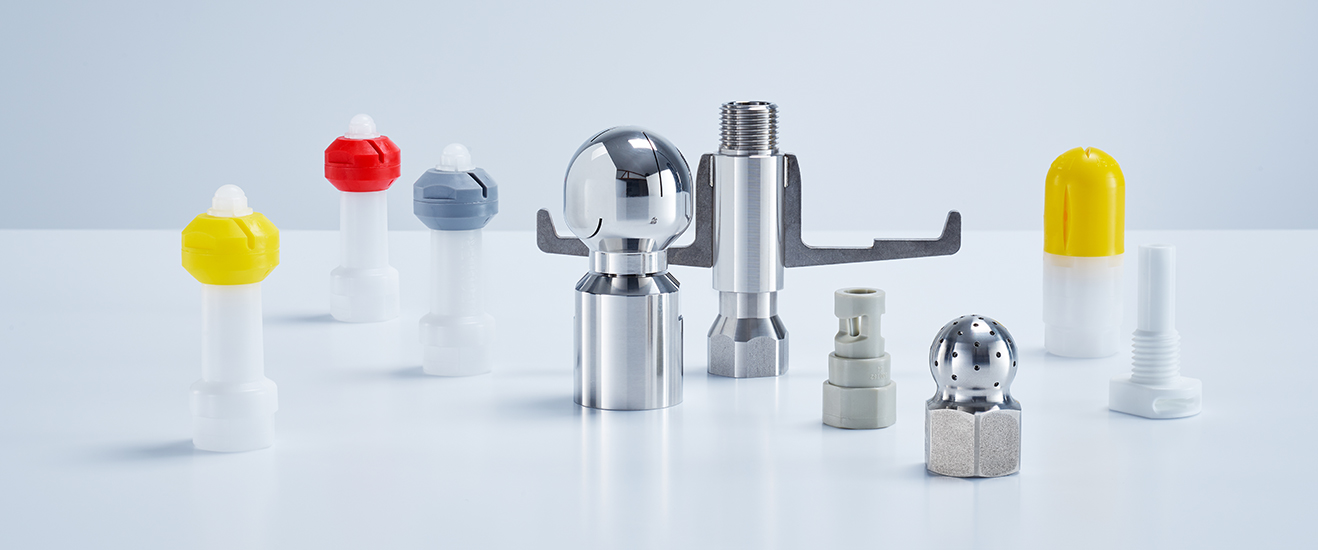 Lechler nozzles for tank and container cleaning
