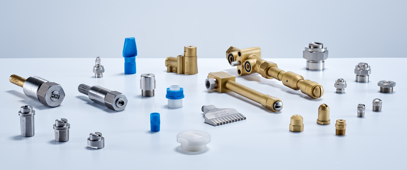 Lechler products for the steel, aluminium and non-ferrous metal industries