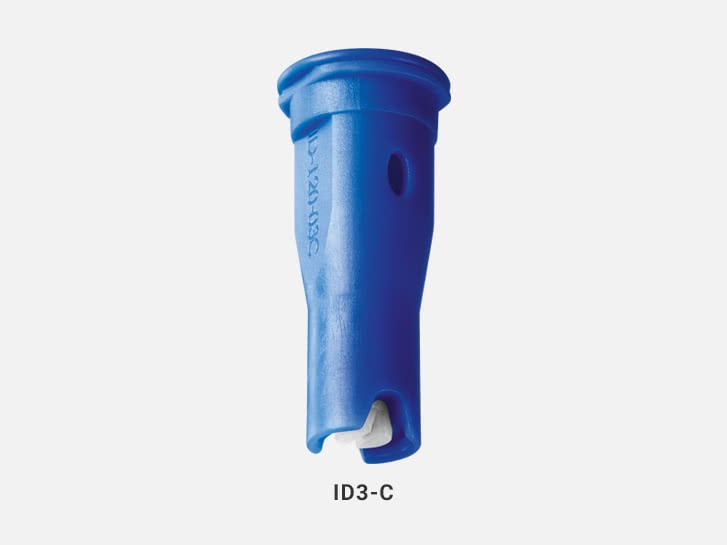 Air-Injector flat spray nozzles ID3-C