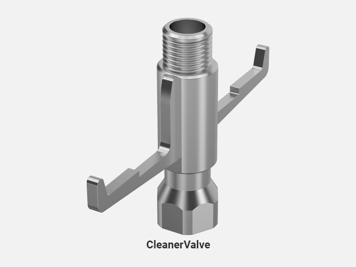 CleanerValve (stainless steel)