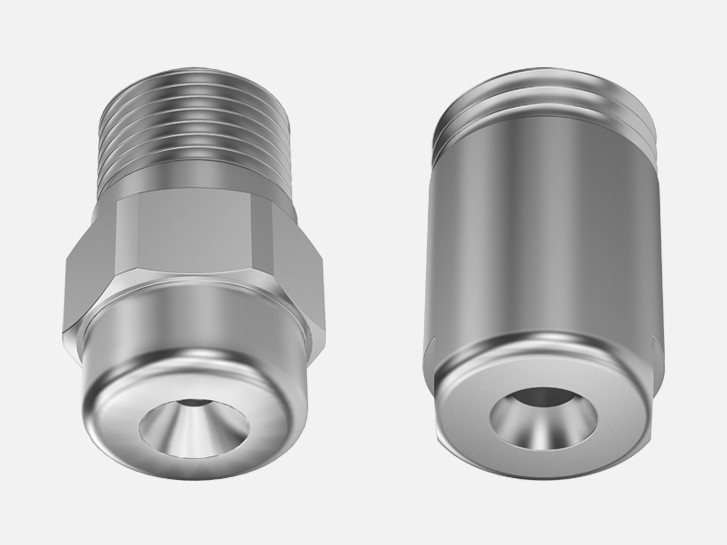 Axial flow full cone nozzles lechler