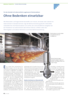 Precision nozzles approved for contact with foods